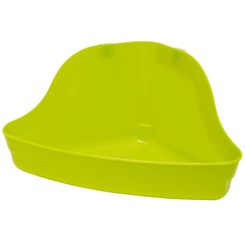 B0002ASBAY Kaytee Hi-Corner Litter Pan (Assorted Colors) 61D6leFHUlL