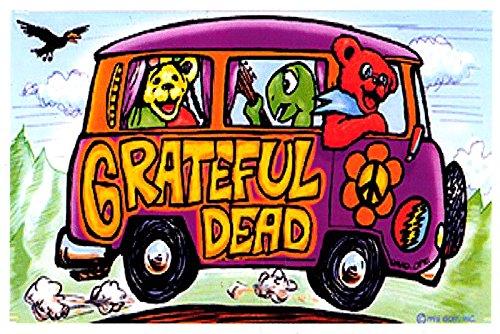 The Grateful Dead Stickers Cars Trucks Hippies Dancing Bear Terrapin Decal Grateful Dead productions