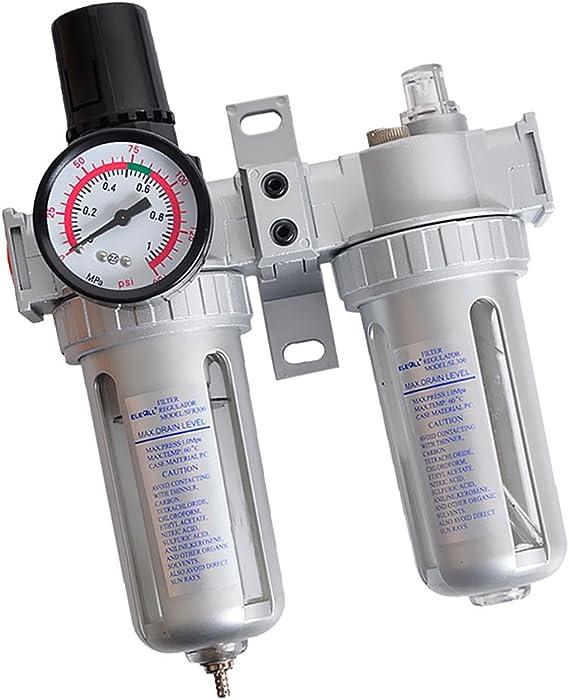 Type 2 AntPower Pneumatic Pressure Air Filter Regulator Lubricator Moisture Water Trap Cleaner Oil-Water Separator