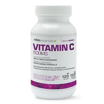 Vitamina C (Ácido Ascórbico) de HSN Essentials - Apto para vegetarianos, sin gluten