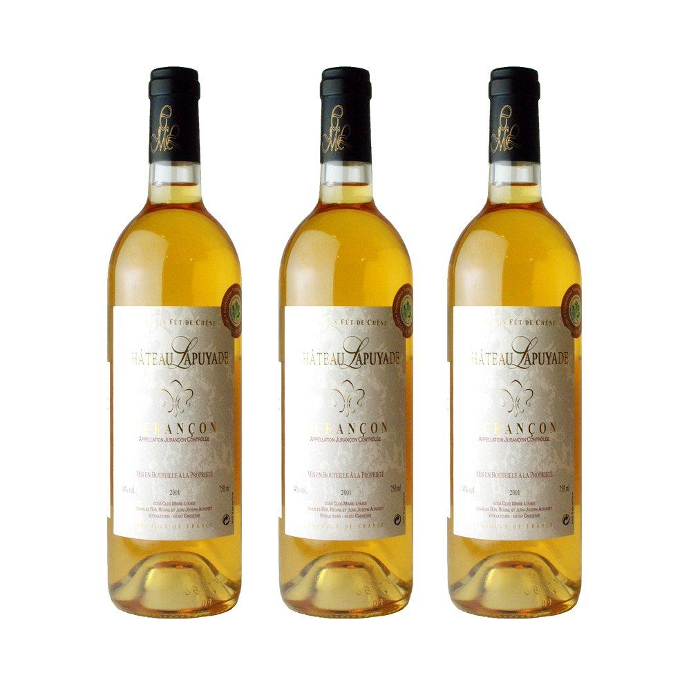 ジュランソン (甘口)白3本セット【お買い得 ジュランソン】 B075F51ZP2 オーガニック オーガニック ワイン B075F51ZP2, Peek-a-Boo:cf4fe760 --- yogabeach.store