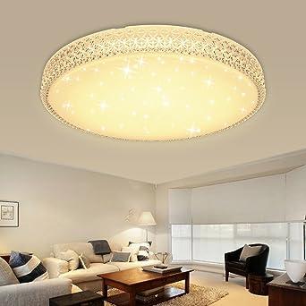 HG® 60W LED Deckenleuchte Wandlampe Warmweiß Deckenlampe Kristall ...