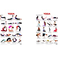 Yoga Chart 5 + Yoga Chart 4 (Set of 2 Books)