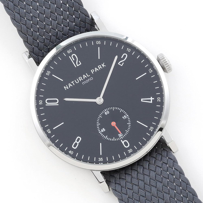 Wasserdichte Herren & Frau Kleid Uhren mit Schwarz Zifferblatt Grau Nylon Armbanduhr Band Arabisch Display