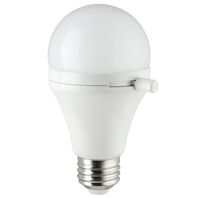 Sunlite ShabBulb, Shabbat Permissible LED Light Bulb, 7 Watt (40 Watt Equivalent) Warm White (2 Pack)