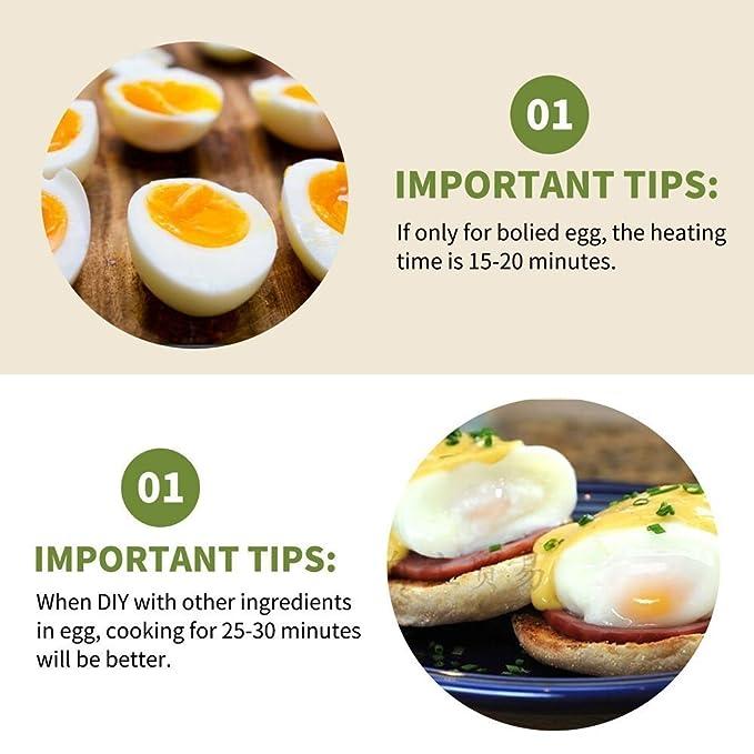 Huevo de cocina, huevo cazadora para huevos duros/blandos, huevos ...