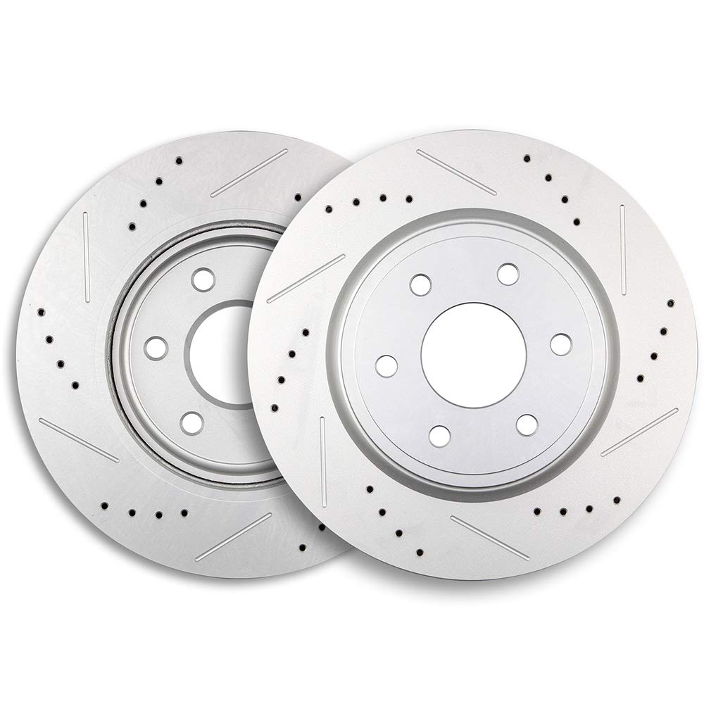 Brake Rotors,ECCPP 2pcs Front Brake Discs Rotors Brakes Kits fit for 2005-2017 Nissan Frontier,2005-2012 Nissan Pathfinder,2005-2015 Nissan Xterra,2009-2012 Suzuki Equator