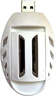 LEYIJU Set Anti-Moustique USB, Y Compris 30 Comprimés Anti-Moustiques, Adapté À La Voiture, À La Maison, Adapté À Tout Le Monde, Taille 8.5 * 5 * 2.5Cm