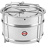 Embassy Cooker Separator Set Suitable for Prestige 5 Ltrs Deluxe & 5.5 Ltrs Popular Outer Lid Pressure Cookers (2 Containers)