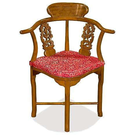 Amazon.com: Hecho a mano Rosewood diseño de flores y pájaros ...