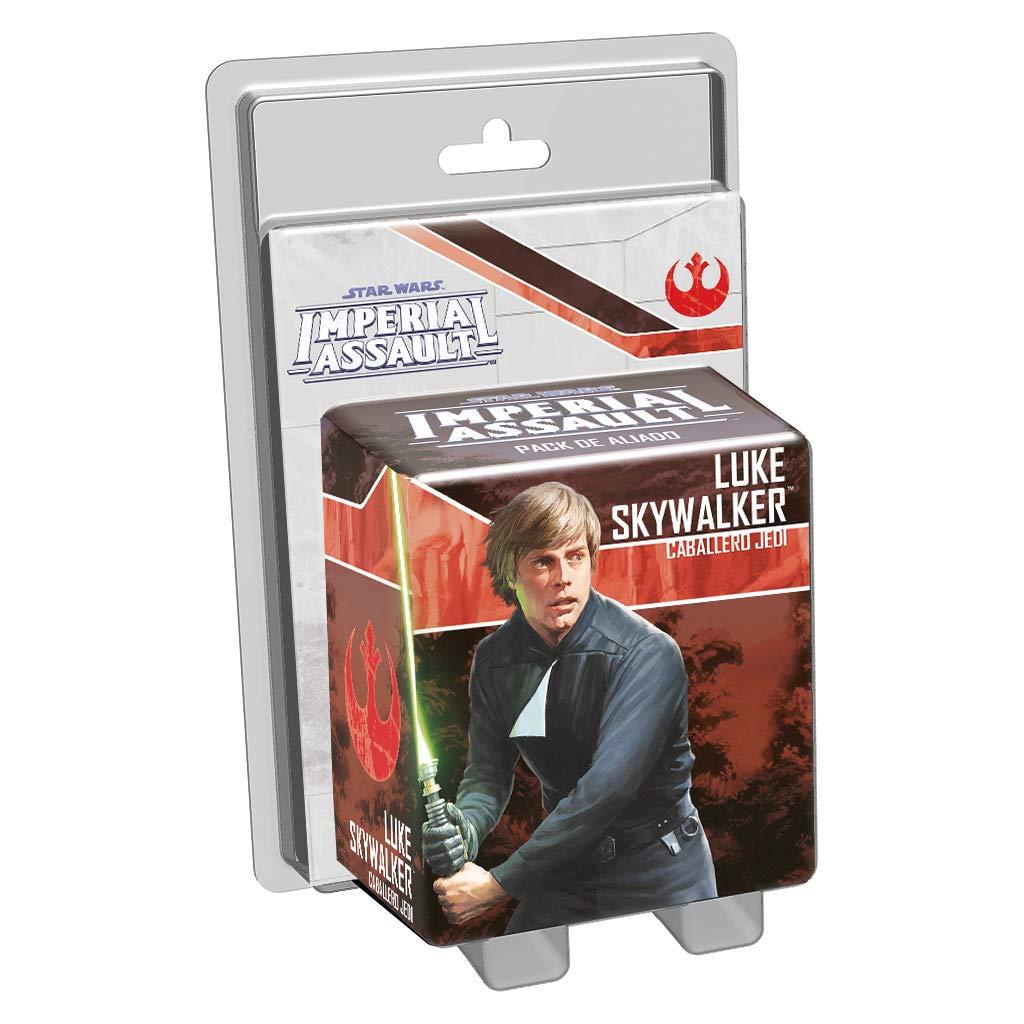 colecci/ón Imperial Assault FFSWI33 Caballero Jedi Fantasy Flight Games- Luke Skywalker
