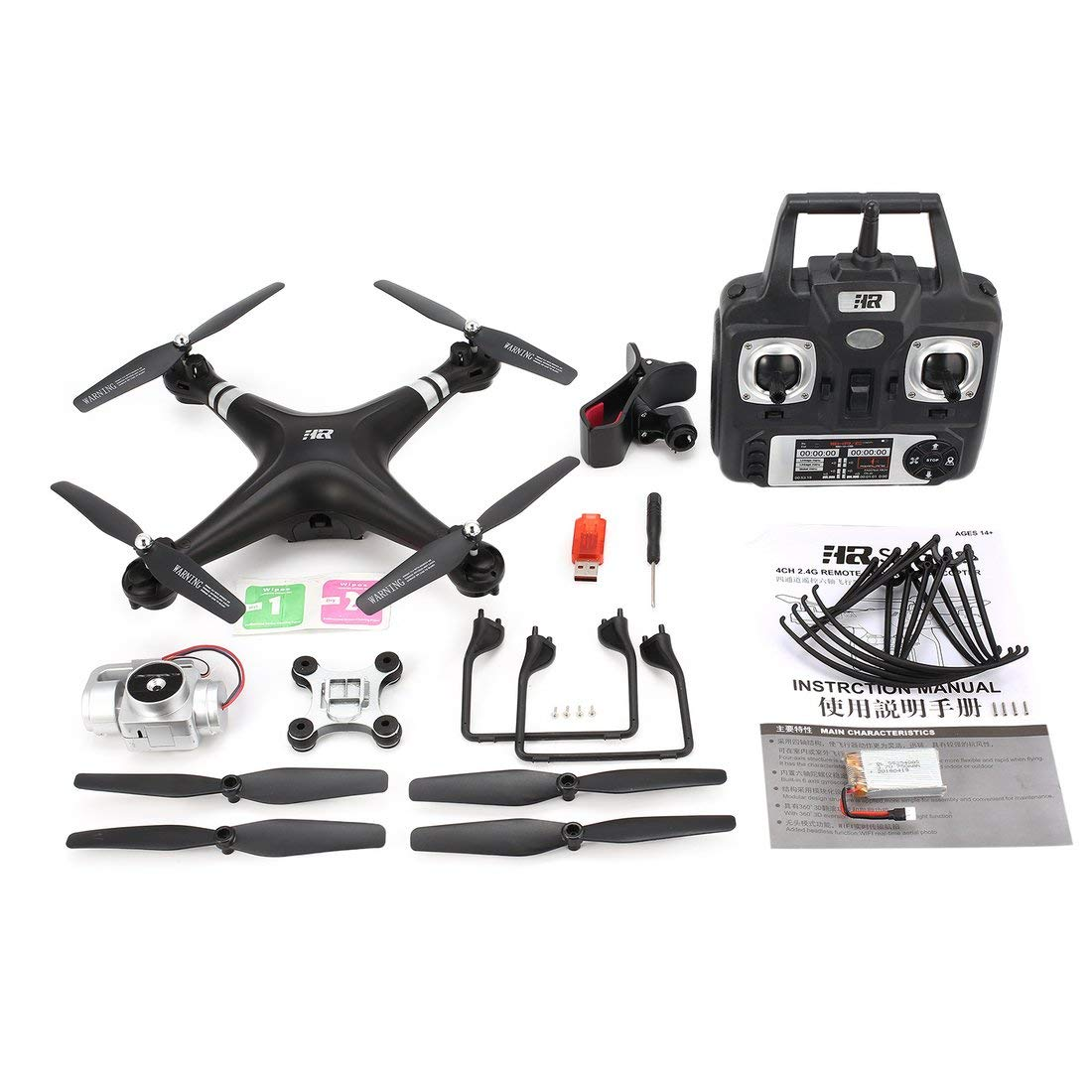 Formulaone SH5HD 2.4G FPV Drohne RC Quadcopter mit 720P Einstellbare WiFi Kamera Live Video Höhe Halten Headless Modus EIN Schlüssel Return