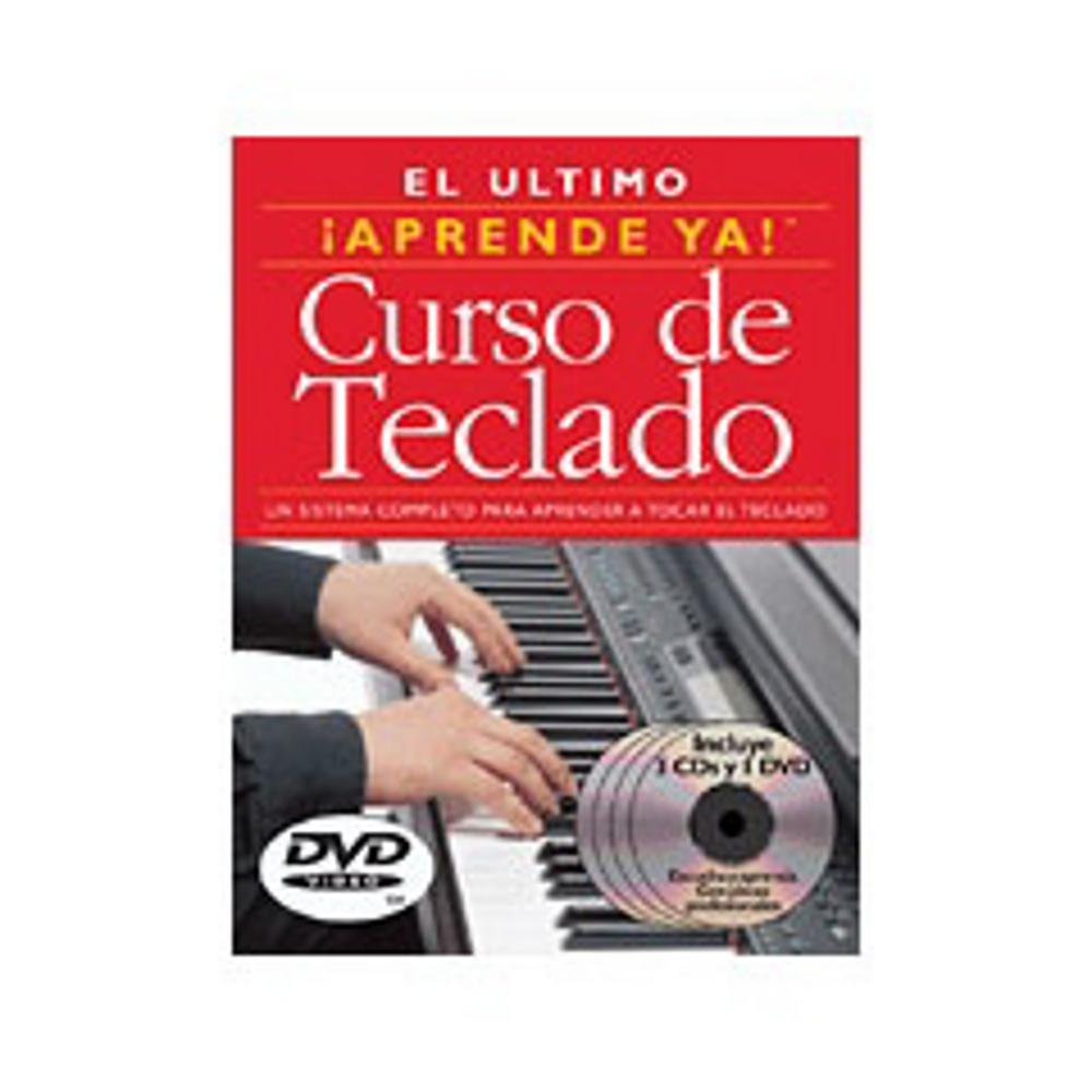 Curso de Teclado (3 Books 3CDS 3 DVDS) Sheet music