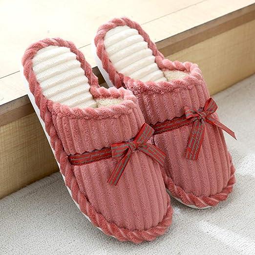 SLIPPERS Pantuflas Casa Zapatillas Espuma Memoria Mujer Hombres ...