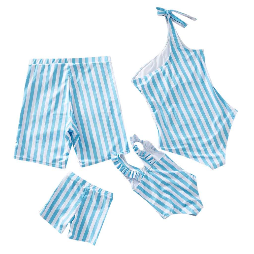 NUWFOR Baby Boys Swimwear Running Surfing Sports Beach Shorts Trunks Board Pants(Z-Blue,4-5Years)
