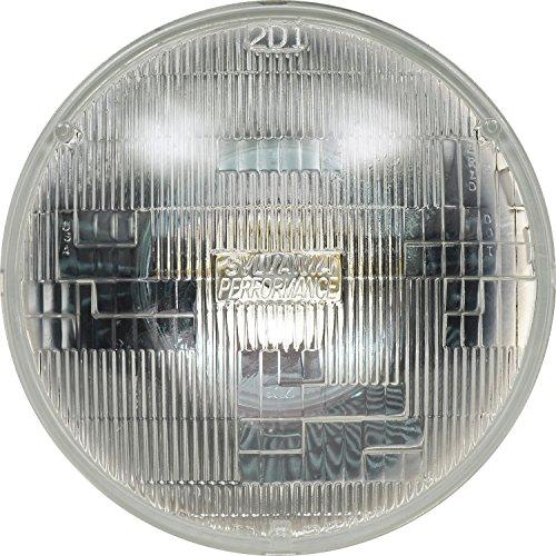 "Sylvania Automotive Bulb Guide >> SYLVANIA H6024 SilverStar High Performance Halogen Sealed Beam Headlight (7"" Round) PAR56 ..."