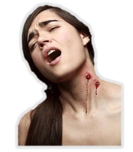 Trucco Halloween  finta ferita morso di vampiro  Amazon.it  Giochi e ... dd5ee4ccc01e