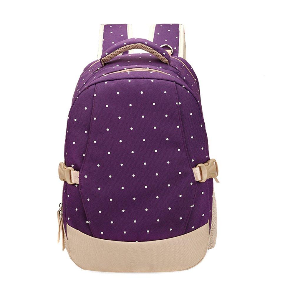 ファッションマザーズバッグ大容量ショルダーバッグレディース妊婦多機能バックパック  パープル B07CVCTLVH