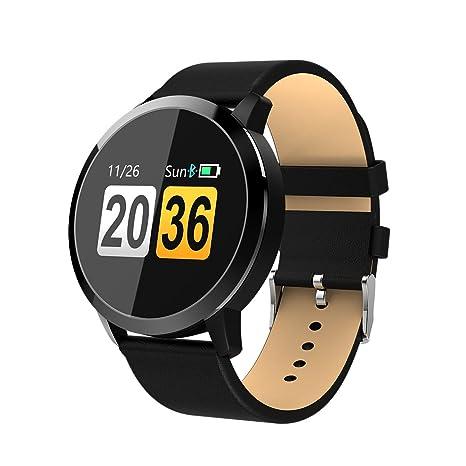 OUKITEL W1 Reloj inteligente, pantalla táctil Bluetooth reloj de pulsera/podómetro analógico/seguimiento