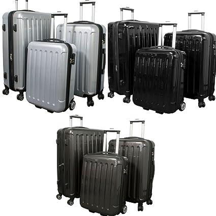 De poli-ABS-juego de maletas duras 3 tlg F