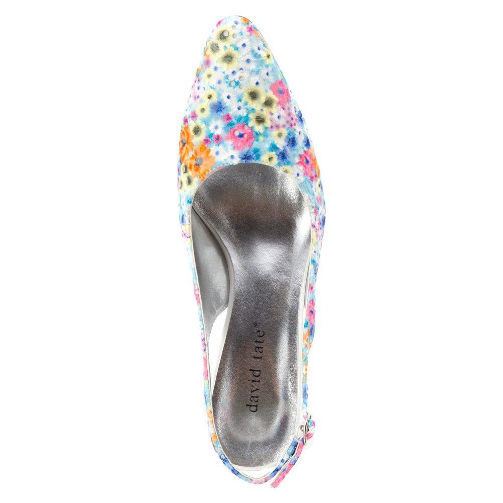 David Tate Women's Lace US|Bright Shoe B00M4Q5OO0 8.5 XW US|Bright Lace Multi e86a91