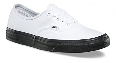 d3f4dc3f00 Image Unavailable. Image not available for. Color  Vans Authentic  (BLACKOUTSOLE) True White 3-14 ...