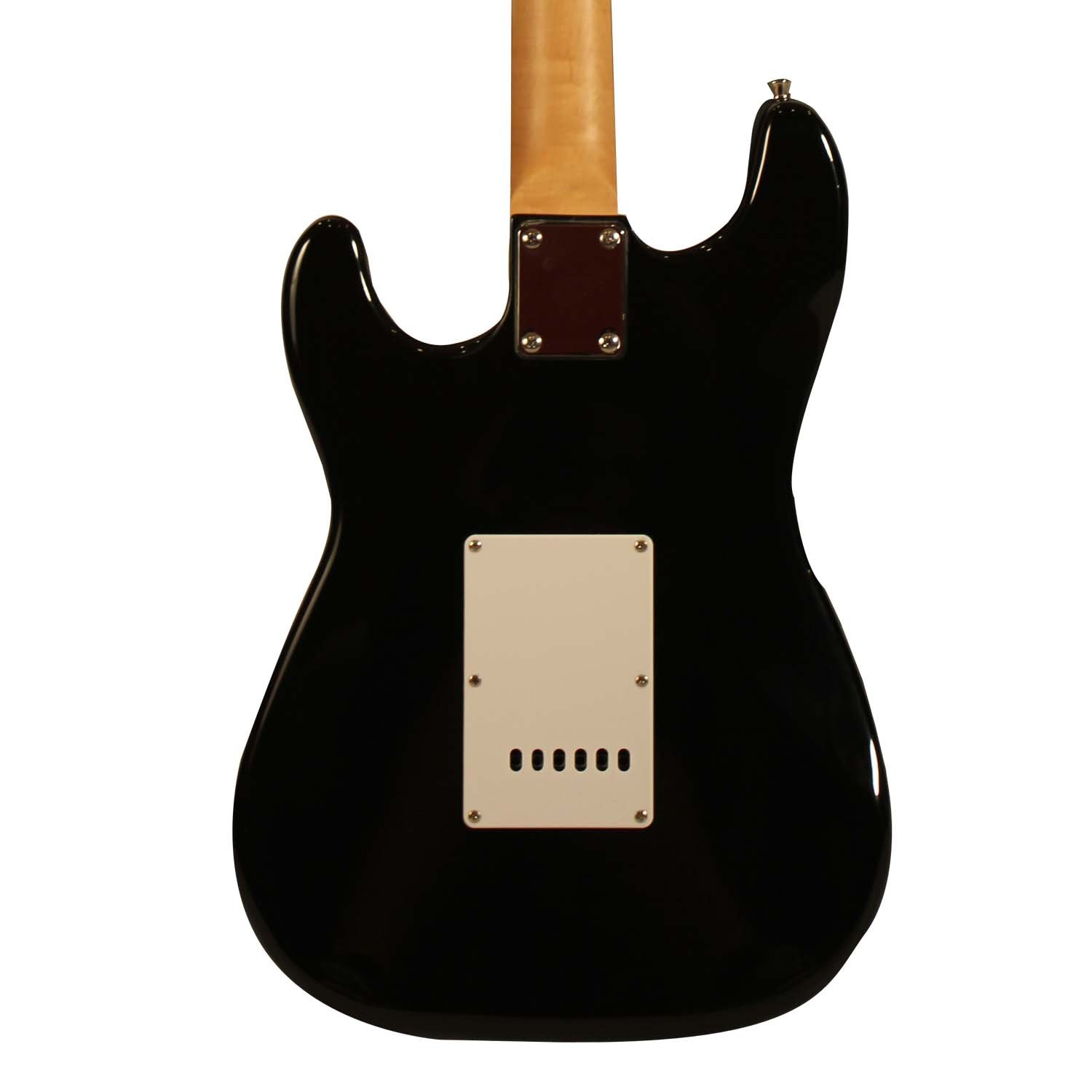 Sawtooth St Es Bkc Black Electric Guitar With Chrome Guitars Telecaster Pick Guard Ok I Can Get A Diagram Out To Pickguard Musical Instruments