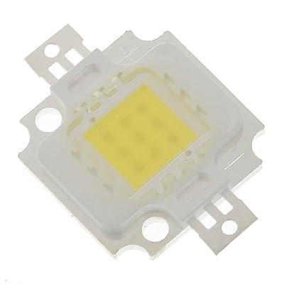 10W 1000LM 6200K 1-cob lumière blanc froid LED émetteur