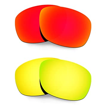 HKUCO Plus Mens Replacement Lenses For Oakley Ten X - 3 pair R5tWGTPrlL