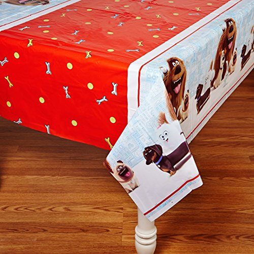 The Secret Life of Pets Plastic Tablecloth, 84