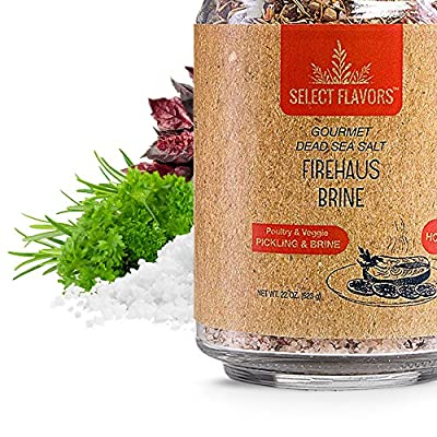 Select Flavors Gourmet Meat Pickling Brine 22 oz. spicy