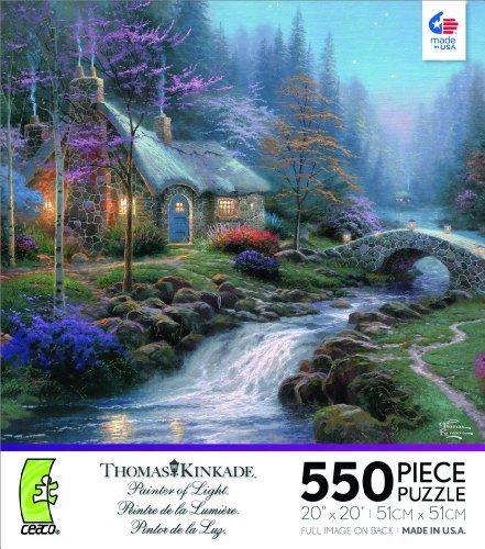 Thomas Kinkade Twilight Cottage Jigsaw Puzzle