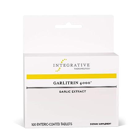 Integrative Therapeutics – Garlitrin 4000 – Garlic Extract – 100 Enteric Coated Tablets