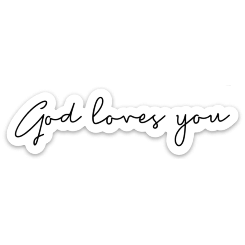 13 Inch Laptop Sleeve Smile God Loves You