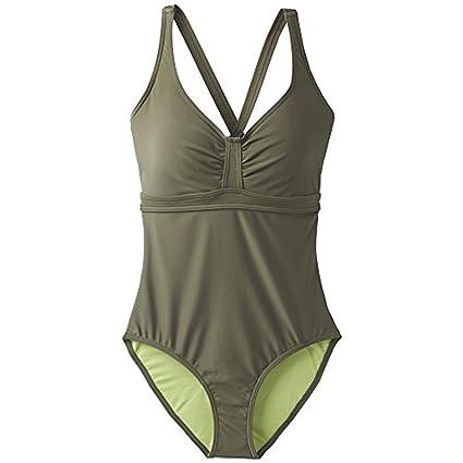 91f8ef9e8d prAna Women's Aelyn Onepiece/D Cup Dress, Cargo Green, Size 32D/X