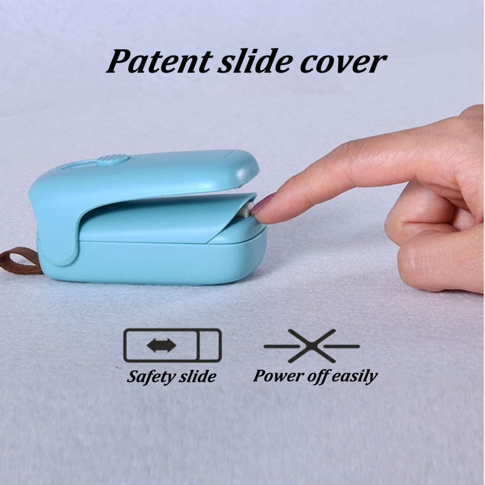 Mini Bag Sealer Portable Heat Seal Machine 2 in 1 Mini Heat Sealer Battery not Included