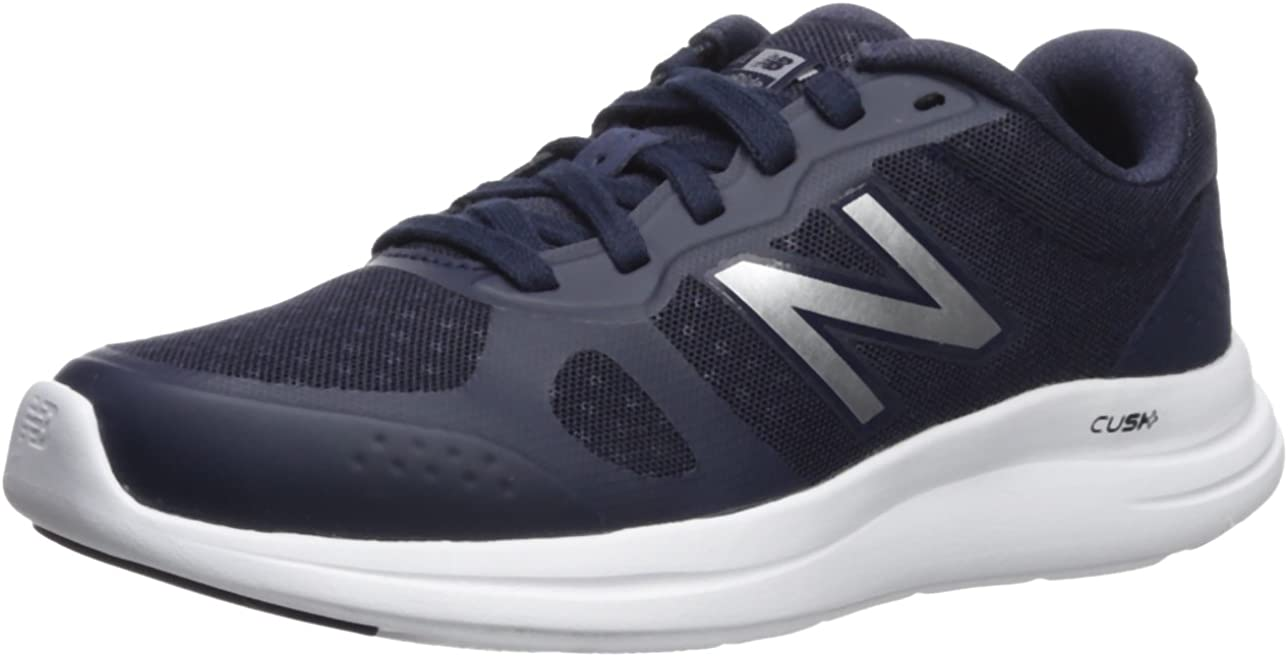 New Balance Women s Versi v1 Cushioning Running Shoe, Pigment, 12 B US