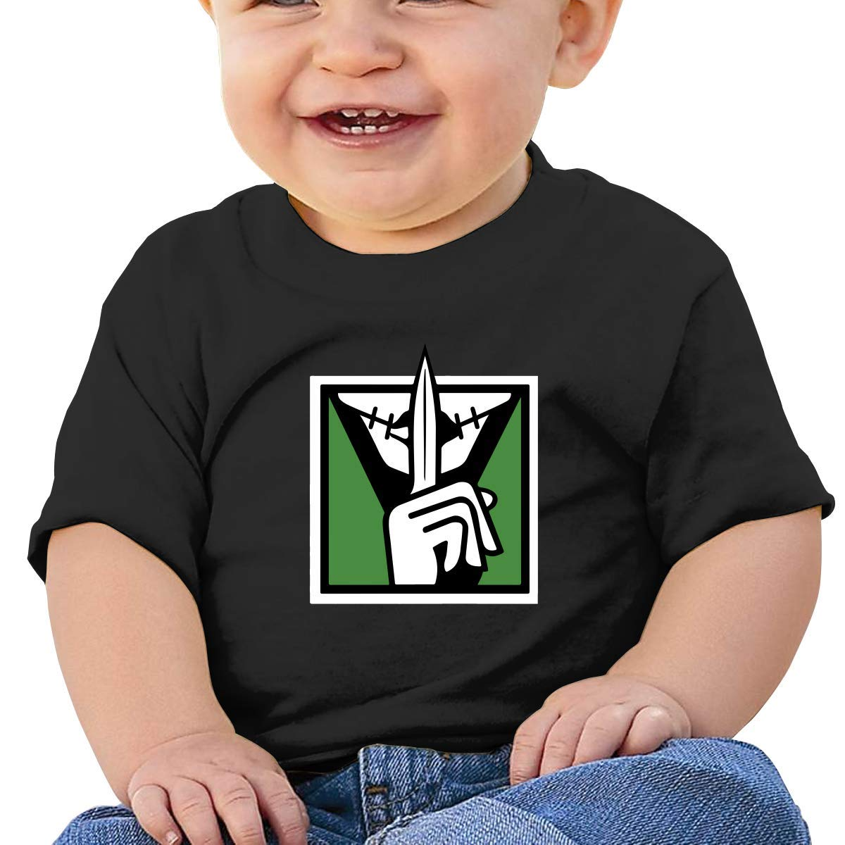 Baby T Shirts Rainbow Six Siege Toddler Short Sleeve Top