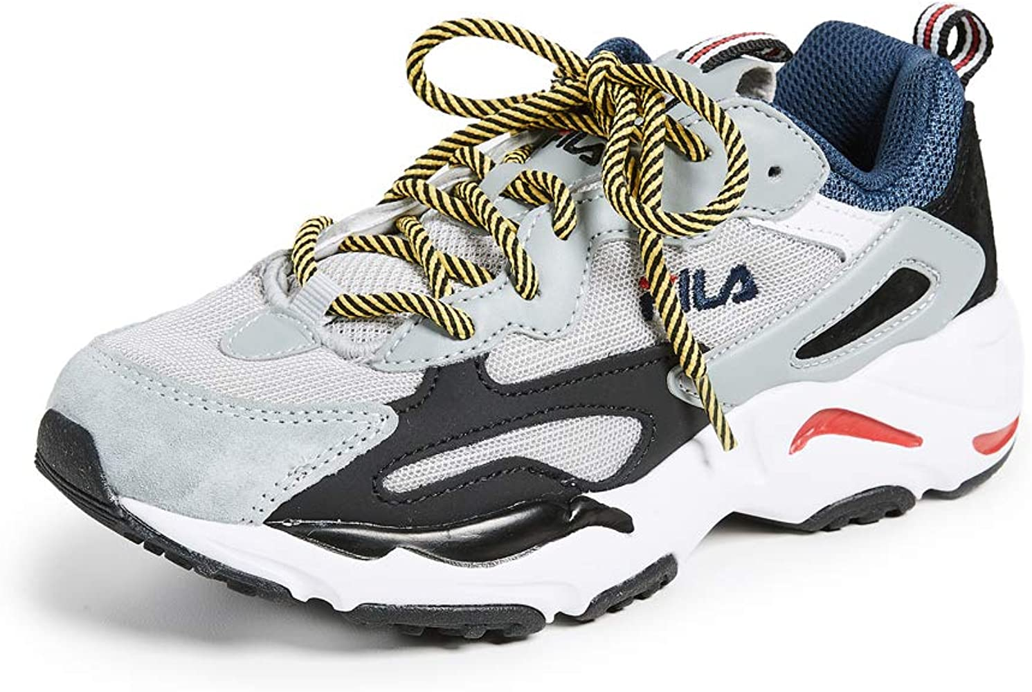 Fila Ray Tracer Damen Sneakers, Blau (Blau/Weiß/Schwarz), 6.5 M EU ...