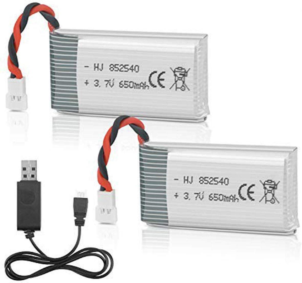 2 baterias para drone Syma X5C X5SW X5C X5SC M68 M62 650mah