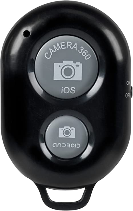 kwmobile Disparador Remoto inalámbrico para cámara con Bluetooth ...