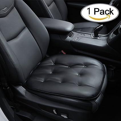 Car Seat Pad Soft Car Seat Cushion Comfortable Seat Pad For Home Office Travel Universal Car Cushion Pad Black