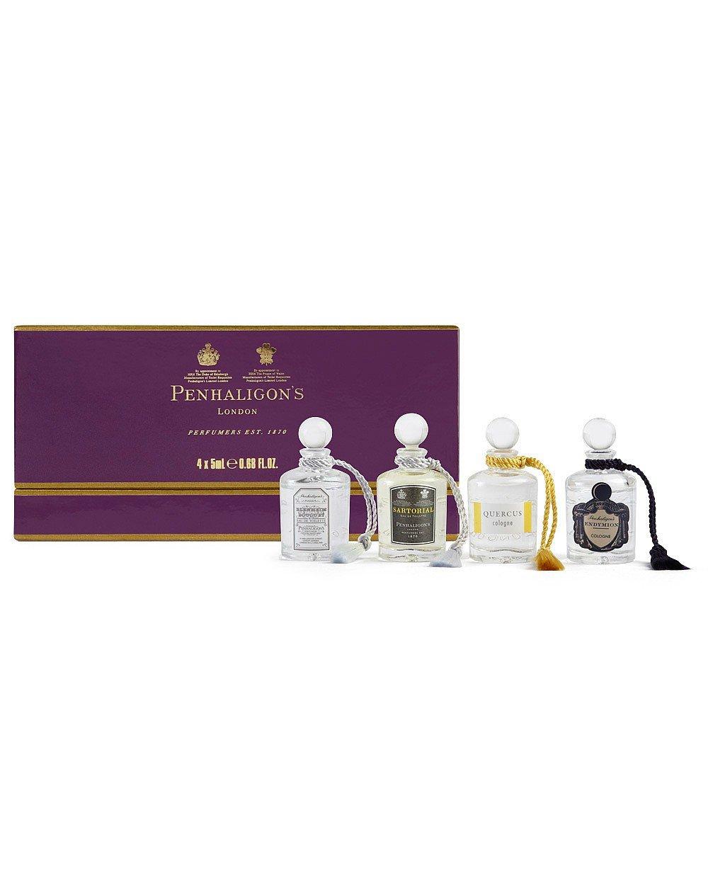 La colección de caballeros miniatura fragancia de Penhaligon 4x 5ml Penhaligon' s 9015005G