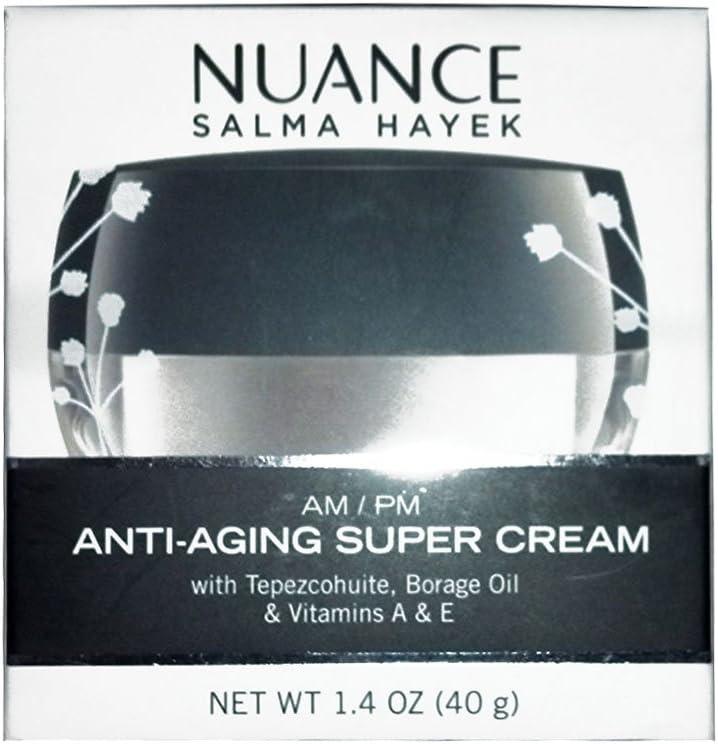 NUANCE SALMA HAYEK AM/PM ANTI-AGING SUPER CREAM - 1.4 OZ (40G)
