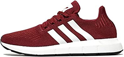 Helecho pastel Ocultación  adidas Men's Swift Run Running Shoes Red: Amazon.co.uk: Shoes & Bags