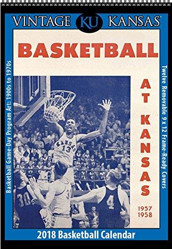 Cheap 2019 Vintage Kansas Jayhawks Basketball Calendar for sale