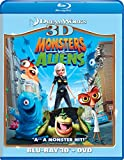 Monsters vs. Aliens (Two-Disc Blu-ray 3D/DVD Combo) Image