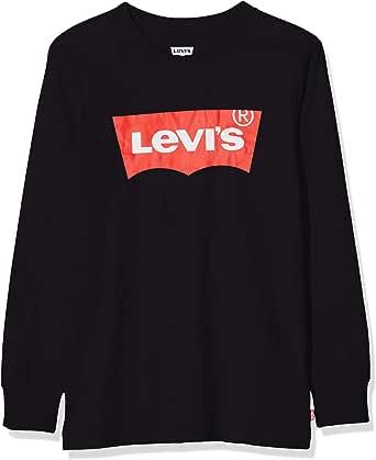 Levi's kids Lvb L/S Batwing Tee Top de manga larga para Niñas