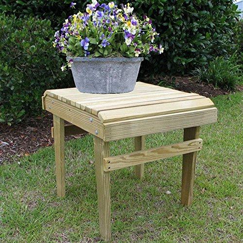 Weathercraft Designers Choice Yellow Pine Side Table - Natural Finish ()