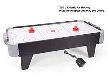Buy Evan Air Hockey Game Air Hockey Table Size 80 5 Cm X 42 Cm X 20cm Electric Power Indoor Game For Kids Online At Low Prices In India Amazon In